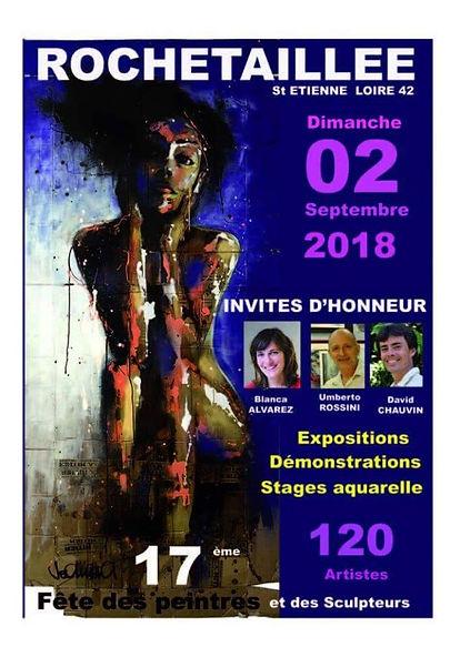 Rochetaillée 2018: Journée des peintres