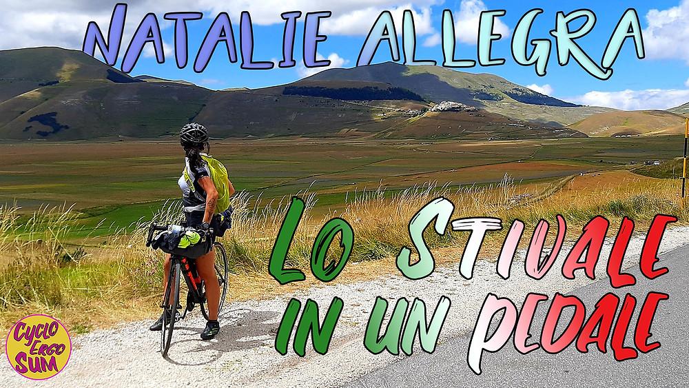 Natalie Allegra, lo Stivale in un pedale