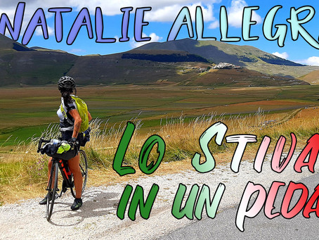 Natalie Allegra - Lo Stivale in un pedale