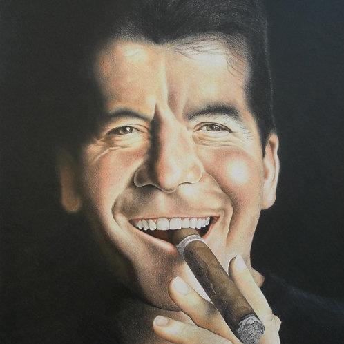 Simon Cowell Fine Art Print