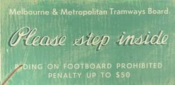 Tram Sign