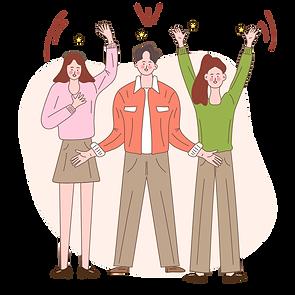 —Pngtree—hand drawn cartoon team victory