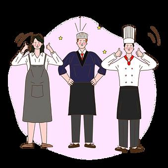 —Pngtree—hand drawn cartoon chef team_55
