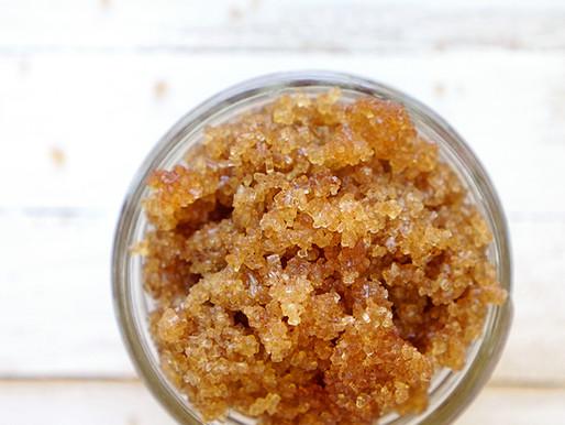 Esfoliante de Açúcar DIY