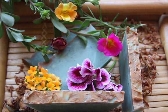 artisan soap flower power