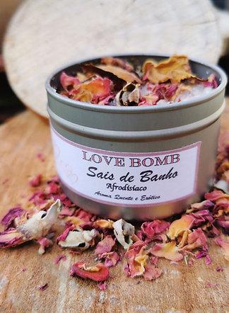 LOVE BOMB Sais de Banho Afrodisíacos