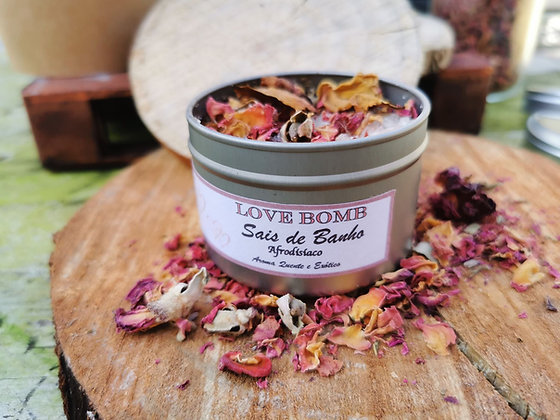 LOVE BOMB Aphrodisiac Bath Salts