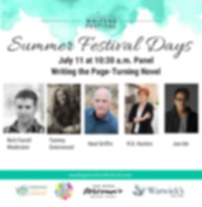 Page Turning Novel Panel - SDWF Jul1 11