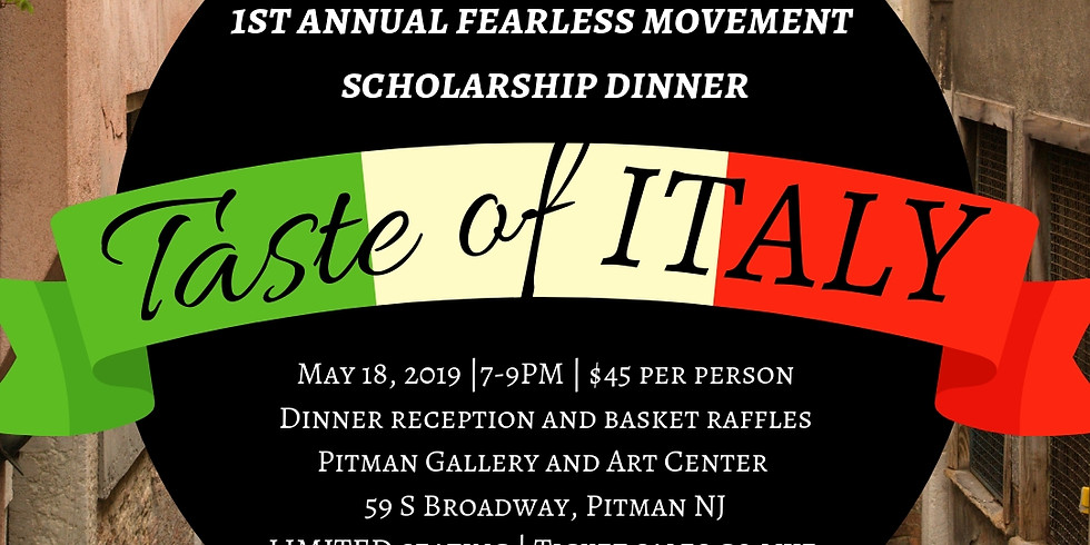 1st Annual Scholarship Dinner Reception - Taste of Italy