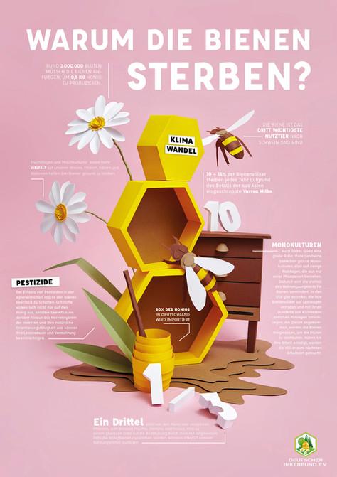 Infografik Bienensterben