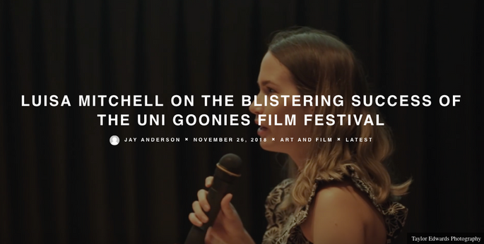 Luisa Mitchell on the blistering success of the Uni Goonies
