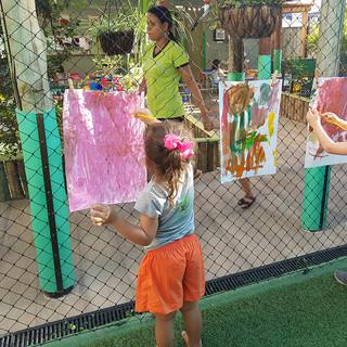 Aula de Artes Infantil