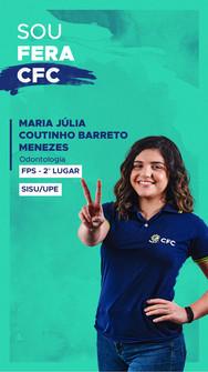 Maria Julia Coutinho Barreto Menezes