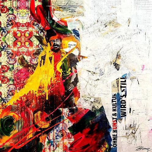 Ohne Kunst & Kultur Wird's Still - Finn