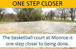 Monroe Basketball Court