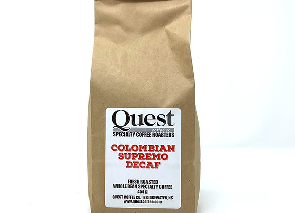 Colombian Supremo DECAFFEINATED 454g