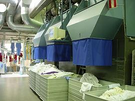 Laundromat commerical dryers
