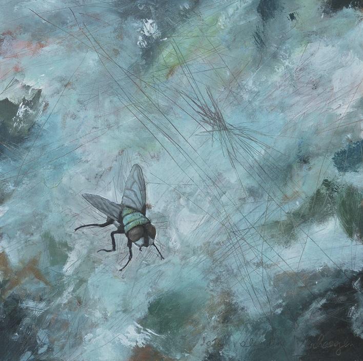 9.La mouche bleue