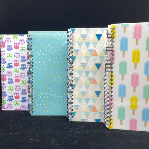 """Personal Notebook Journal - 6"""" x 9"""" A4, 60 unlined pages"""
