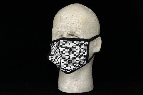 Digital Camouflage || 2-Layer Face Mask Adult Unisex w/Filter Pocket