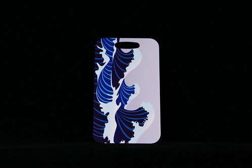 """Great Wave Japanese Aluminum Bag Tag w/Loop 