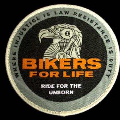 Bikers for Life Vest Patch