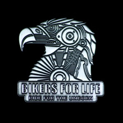 Bikers for Life Pin