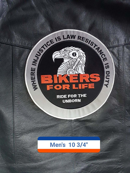 The Bikers for Life mens patch