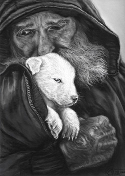The puppy and the musher 3/3