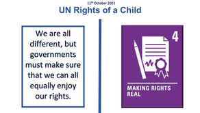 UN Rights of a Child (11th October 2021)