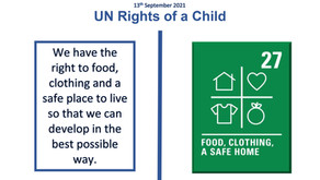UN Rights of a Child (13th September 2021)