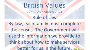 British Values (22nd March 2021)