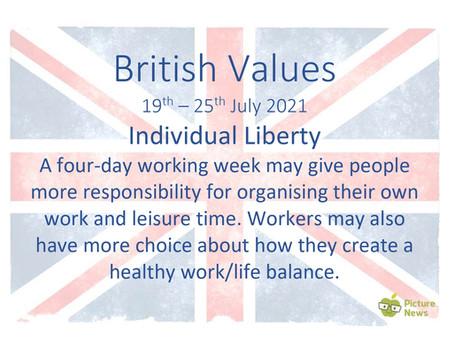 British Values (19th July 2021)