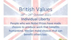British Values (18th October 2021)
