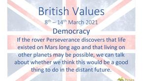 British Values (8th March 2021)