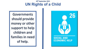 UN Rights of a Child (4th October 2021)