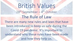 British Values (28th September 2020)
