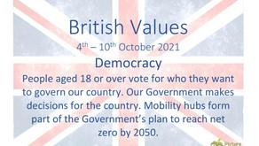 British Values (4th October 2021)