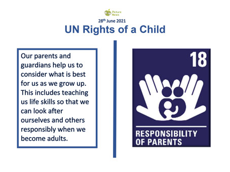 UN Rights of a Child (25th June 2021)