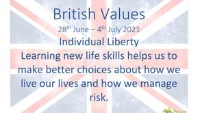 British Values (25th June 2021)