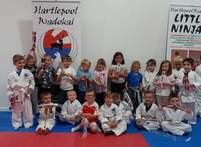 Well Done Little Ninjas!