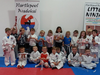 Well Done Little Ninjas!