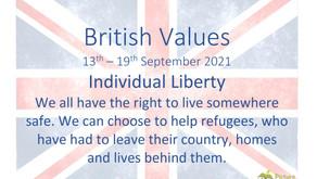 British Values (13th September 2021)