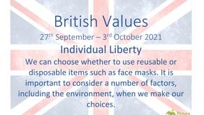 British Values (27th September 2021)