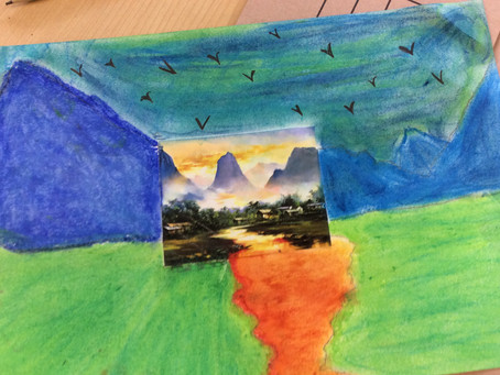 Year 5/6 Landscapes