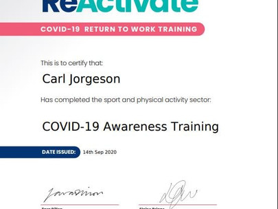 CIMPSA ReActivate online training