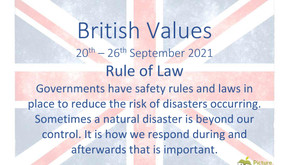 British Values (20th September 2021)