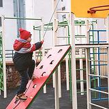 Kind buiten spelen