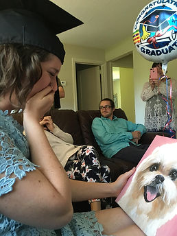 custom pet portrait emotional therapy in