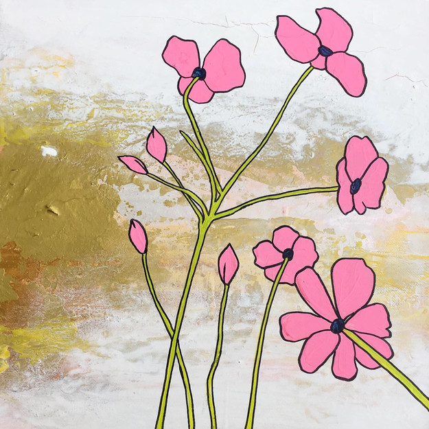 Pink Flowers with Gold AYJ.jpg